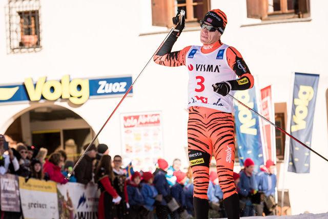 Petter Eliassen kan juble over seier i La Diagonela og ledelse sammenlagt i SKi Classics.  Foto: Arrangøren