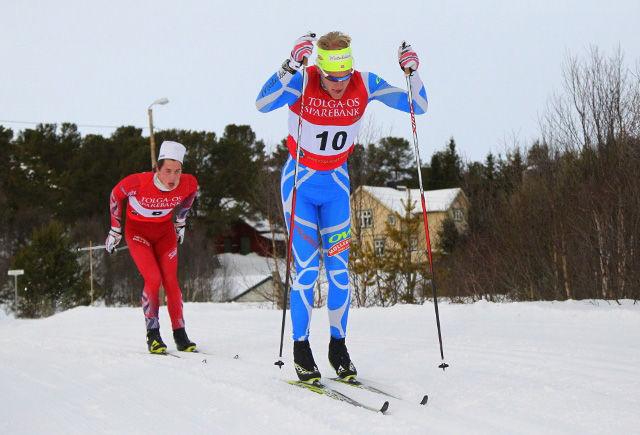 Tore Leren i aksjon i Nansenrennet i 2016. (Foto: Henning Smedås)