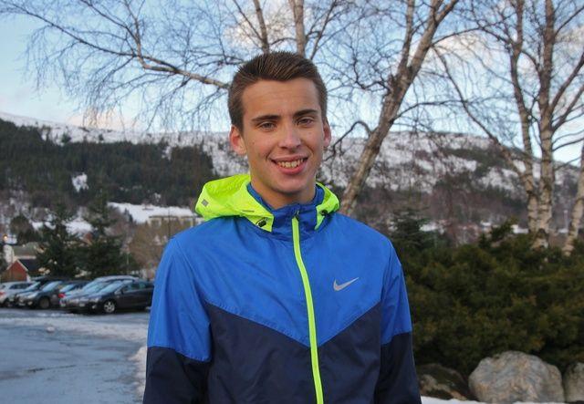 Iver Vattøy vant med tiden 27.47. Foto: Martin Hauge-Nilsen