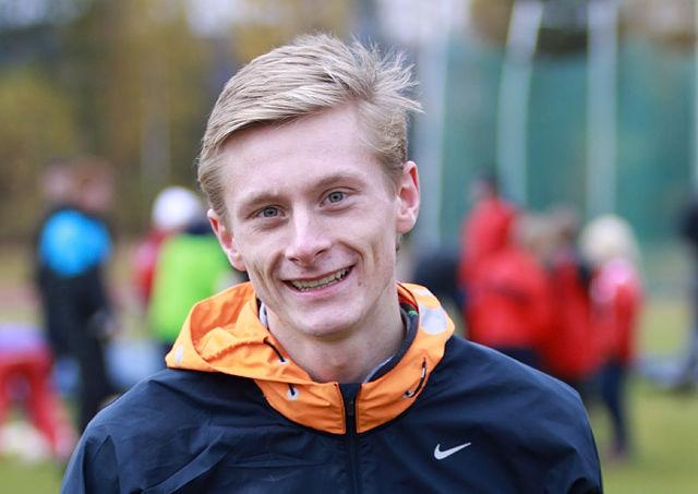 Ferdinand Kvan Edman persa med 75 hundredeler på 1500 m. (Arkivfoto: Stig Vangsnes)