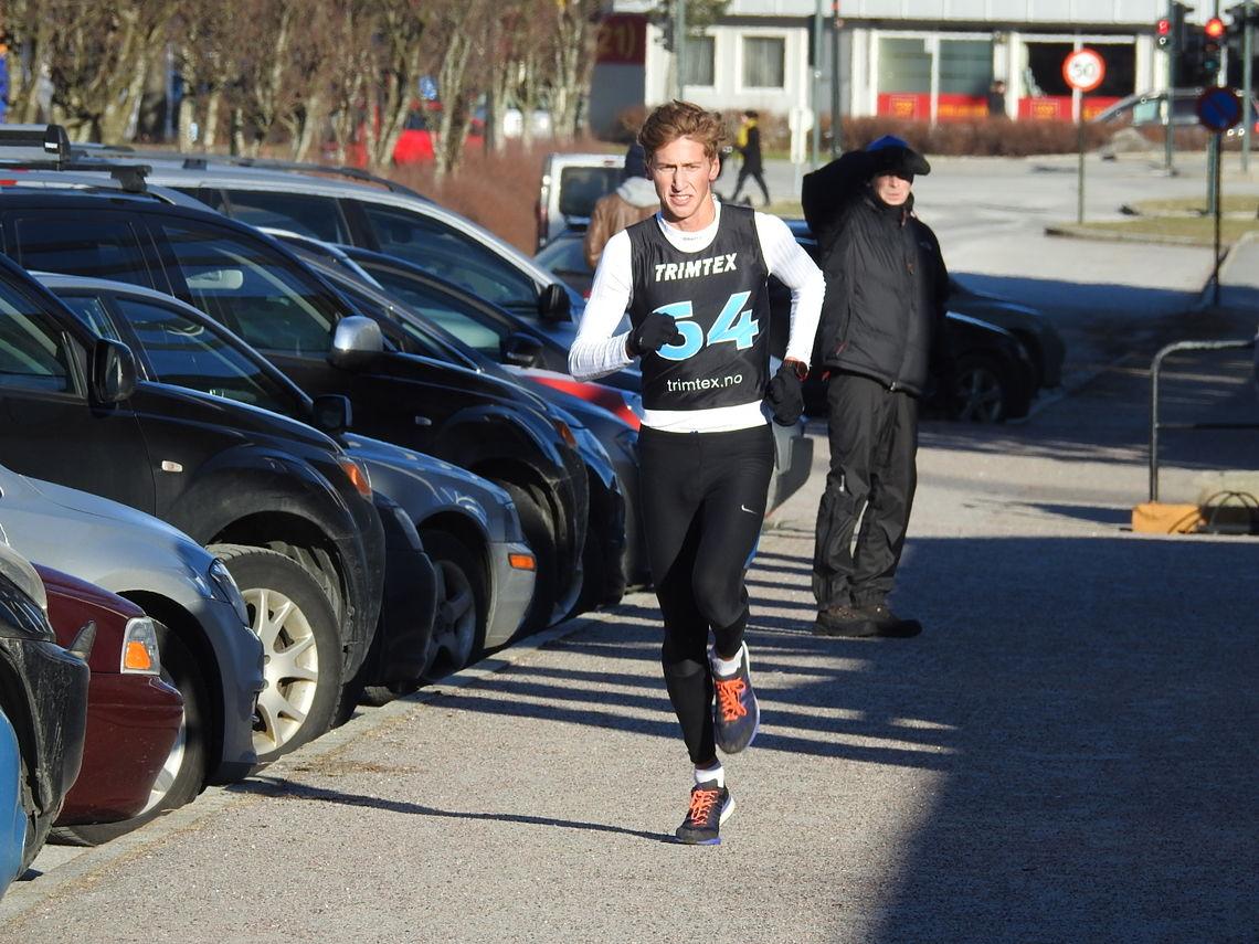 Junioren Kristian Tjørnhom imponerte i Vest-Agders vinterkarusell denne helgen (foto: Ivar Gogstad).