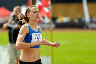 Hedda Hynne klarte bragden å løpe 800 m på mindre enn 2 minutter. (Arkivfoto: Erling Pande Braathen)