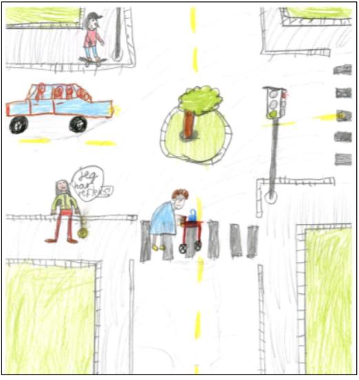 Illustrasjon Trafikksikkerhetsplan