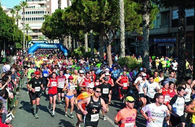 Fra halvmaratonløpet i Torrevieja (Arrangørfoto)