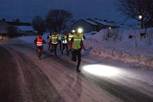 Starten har gått med Bjørn Egil Nordseth i føringen  fra første meter i Byflaten. (Foto: Stein Arne Negård)