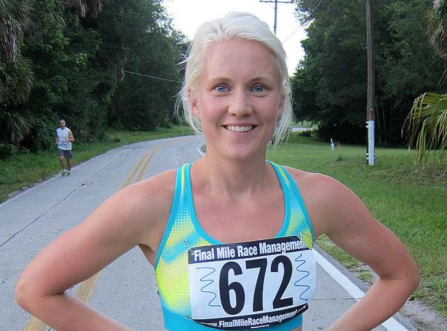 Ragnhild Kvarberg Hjelle vant løpet og ble bare slått av to menn. (Arkivfoto: Runar Gilberg)