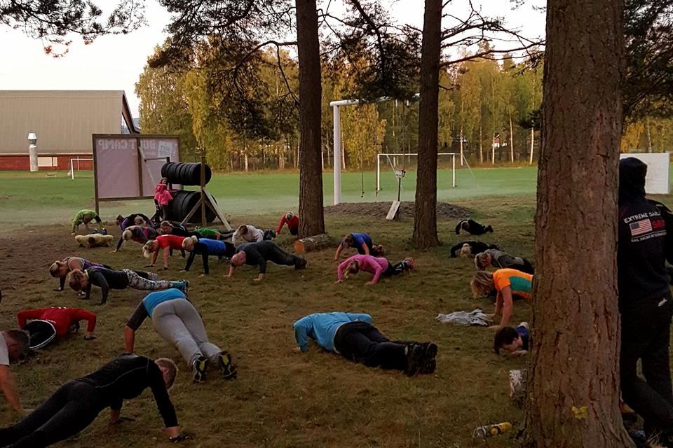 Trening ute, Hønefoss.jpg