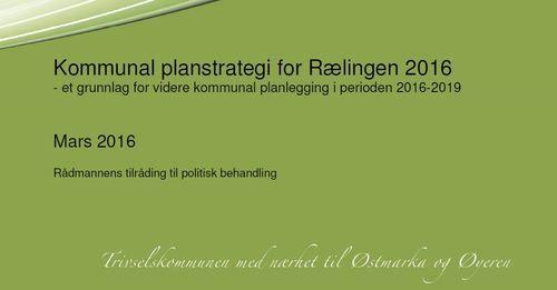 Kommunal planstrategi 2016