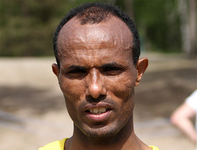 Weldu Negash løp inn til 2.13.23 og sjetteplass i Wien Marathon. (Arkivfoto: Runar Gilberg)