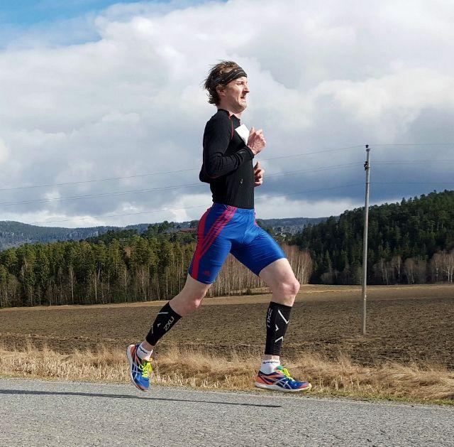 Svenske Anders Soovik vant herreklassen i Røyse Ultra 2016 (arrangørfoto).