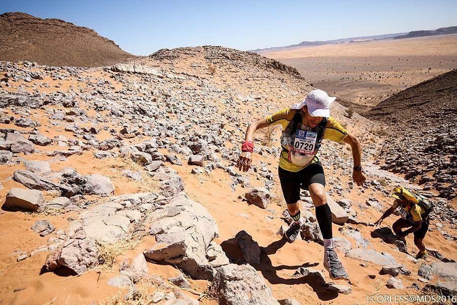 Sondre Amdahl løp inn til en flott 9. plass i Marathon des Sables. (Foto: #MDS2016)