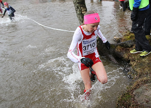 Pernille Karlsen Antonsen, Vidar vinner Råtassen klasse 14-15 år tidligere i år på Sognsvann. Foto: Heming Leira