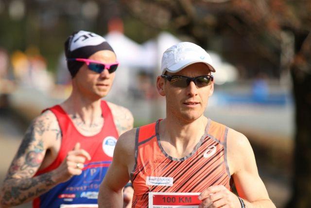 Didrik Hermansen og Bjørn Tore Taranger er de store duellantene på NM 100 km (foto: Olav Engen)