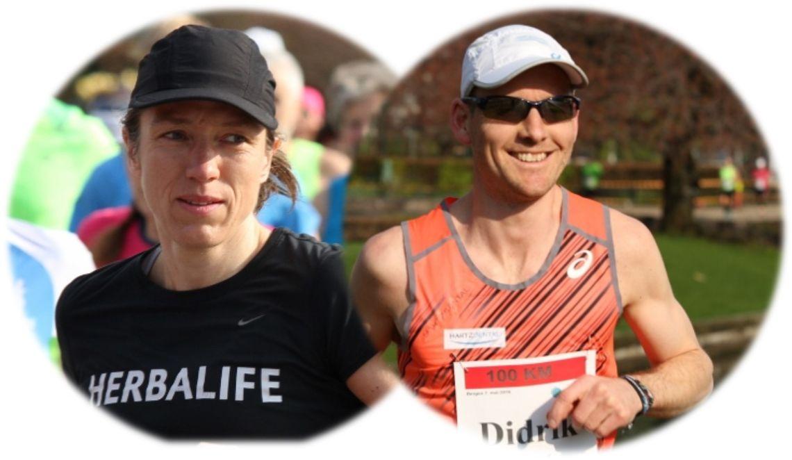 NM-vinnerne Guro Skjeggerud og Didrik Hermansen (foto: Olav Engen)