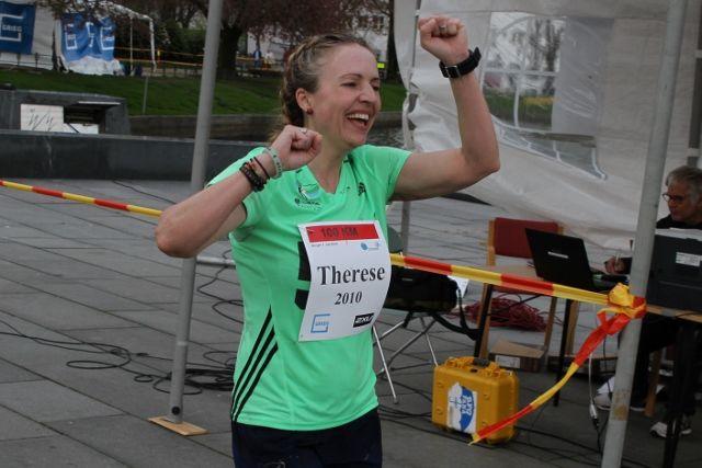 Therese Falk satte norsk rekord på 24-timersløp da hun ble nr 4 i EM sist høst (foto: Olav Engen).