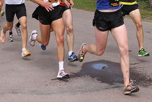 Fotisettet varierer fra løper til løper, fra distanse til distanse og fra hastighet til hastighet. Fottøy og underlag spiller også en rolle. (Foto: Runar Gilberg)