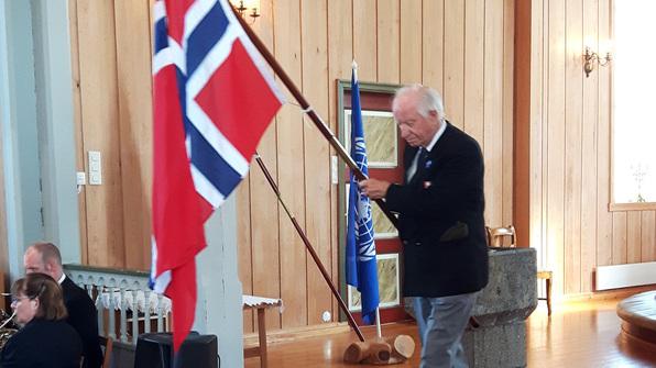 Frigjeringsdagen 8. mai 2016 vart markert i Lindåsbygda i Lindås kommune.