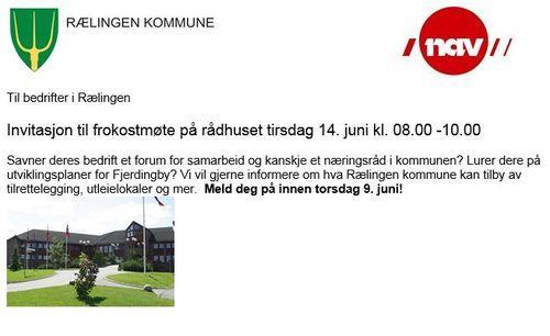 Bilde invitasjon bedrifter 14. juni