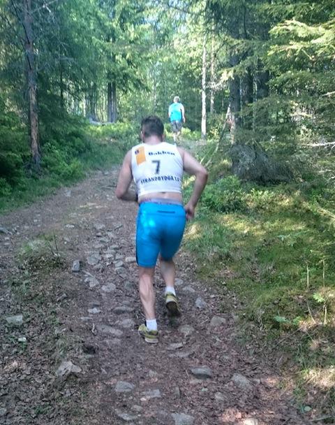 Supersprinter Simen Nordhagen var 4. mann til topps.