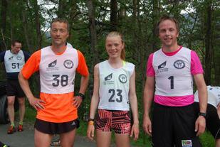 Gisle Skjølberg, Kristine Hjellbakk Hole og Hilmar Kråkenes
