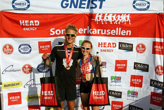 Sondre Øvre-Helland og Adele Henriksen raskest på 10km