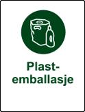 symbol plastemballasje