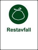 Symbol restavfall