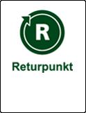 Symbol returpunkt