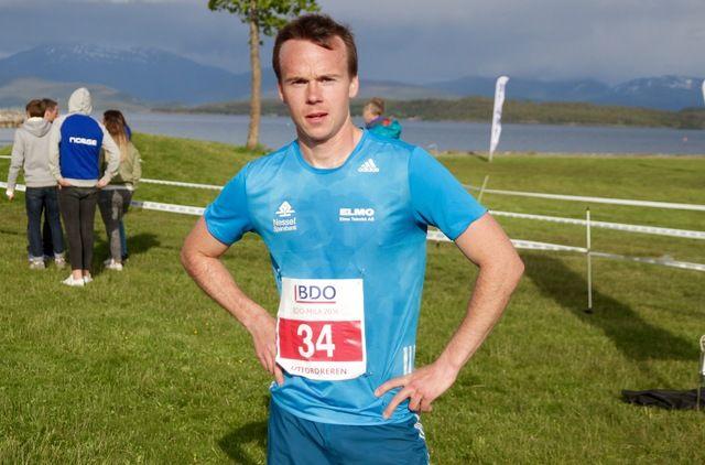 Johan Bugge vant dagens løp i Molde, men er usikker på sin egen formutvikling. Han vet ikke i dag hva som blir hans neste løp.
