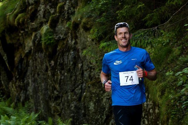 Lee W Piercy vant halvmaraton som var ny distanse i årets løp (arrangørfoto).
