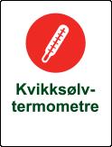 Symbol kvikksølvtermometer