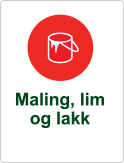Symbol maling lim lakk