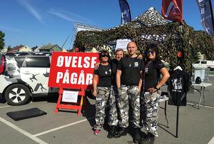 Noen av de råeste arrangørene i hinderløpverden (Foto: Line Hofoss Holm)