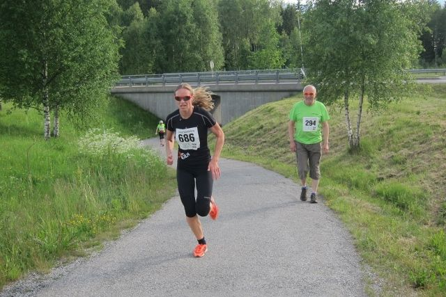 Rønnaug Alsgaard vant kvinneklassen (foto: Toril Blakkisrud).