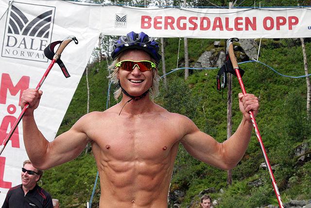 Sondre Øvre-Helland valgte rulleski under fjorårets Bergsdalen Opp