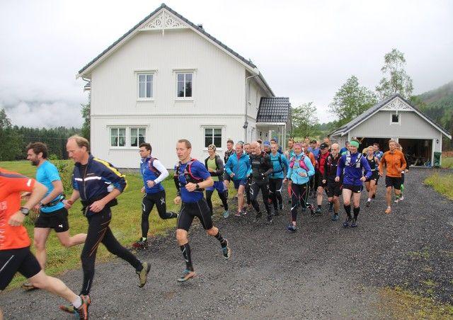 Starten har gått. Foto: Magne J. Krumsvik.