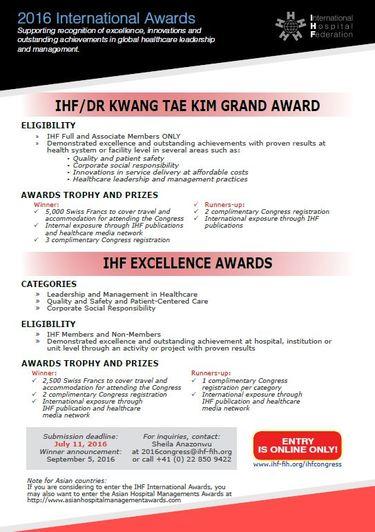 IHF award