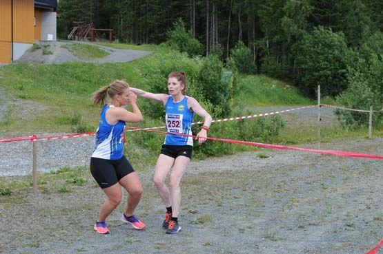 Før siste dag i St. Olavsloppet ligger damelaget til Strindheim IL på 2. plass. (Alle foto: arrangøren)