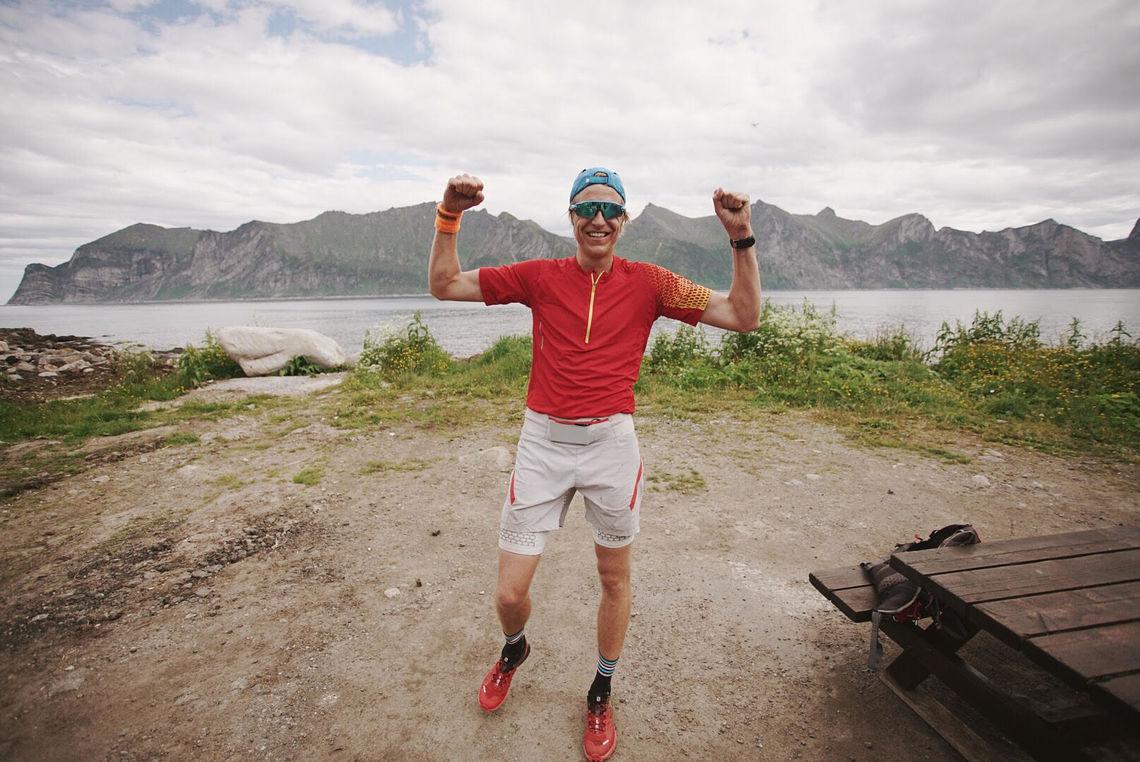 Gjermund Nordskar vant det første XREID Senja (foto: Håkon Jørgensen).