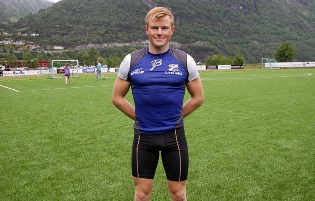 Joar Andreas Thele var beste Lyn-løper, men også beste løper totalt på ny løyperekord i dagens løp på Hellesylt