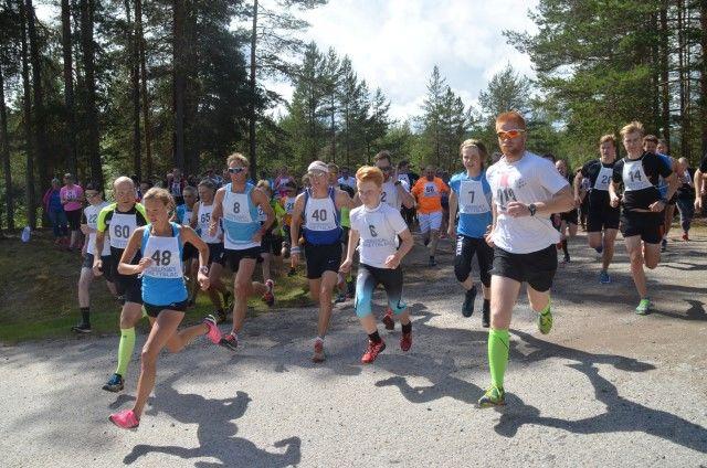 Fra starten i 2016 med Monika Kørra (48) i front. (Foto: Erik Øsmundset)