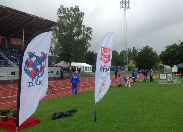 Fra Odense stadion (Foto: Odense Atletik/OGF)