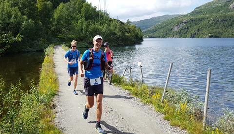 For 15. gang skal Rallarvegen løpes i to etapper, først fra Flåm til Finse og så videre til Haugstøl. (Foto: Randi Helen Gran)