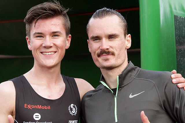 To av tre løperbrødre Ingebrigtsen.