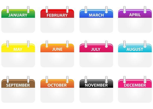 Kalender mnd symbol