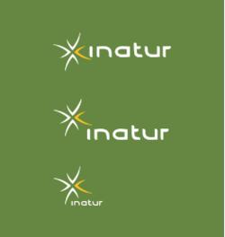 Logo inatur grønn symbol