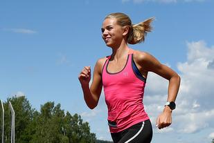 Stine Wangberg har kommet som et skudd i år med blant annet sølv på 3000 m i U18-EM. (Foto: Bjørn Johannessen)
