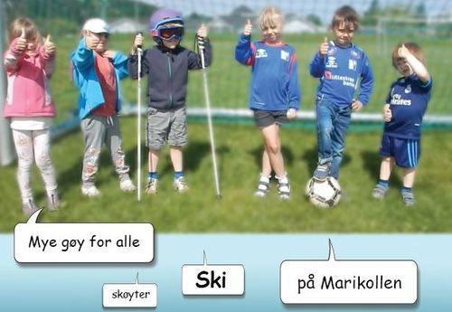 Blå plakat - liten Torva barnehage