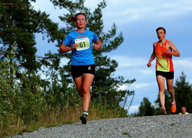 Solfrid Braathen i det åttende løpet i årets ABIK-karusell. Hun vant da også. (foto: Bjørn Hytjanstorp).