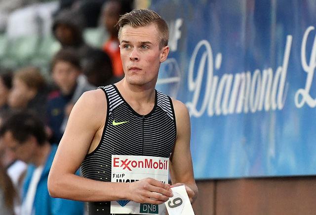 Filip Ingebrigtsen fikk ikke vist hvor god form han var i under OL. Det gjorde han til gangs nå. (Arkivfoto: Bjørn Johannessen)